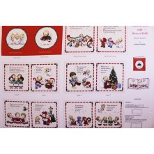 "Elizabeth Studio ""Deck the Halls""  Fabric Book"